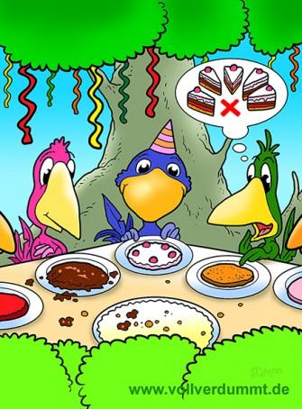 CARTOON Happy Birthday Birds!