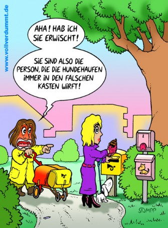 CARTOON Hundehaufen