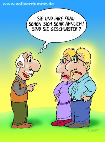 CARTOON Inzest-Frage