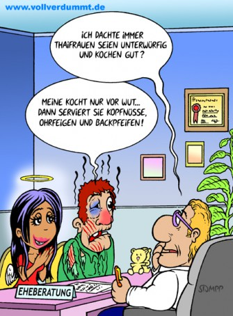 CARTOON Thaifrauen