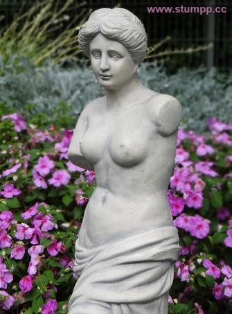 CARTOON Statue, seitliche Perspektive